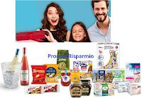 Logo TV Sorrisi e Canzoni ''Fai Centro con le Grandi Marche'' e vinci gratis 100 kit di prodotti