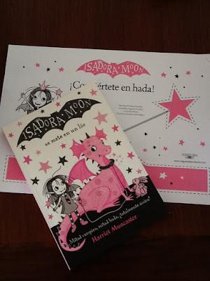 Contando cuentos; Isadora Moon se mete en un lio