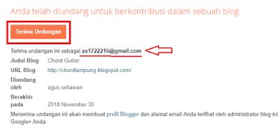 Contoh gambar terima undangan di email