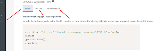 HOW TO ENABLE WEB PUSH NOTIFICATION ON your blog