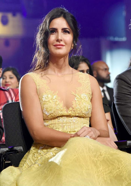 Sizzling Katrina in Yellow