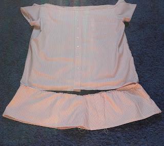 sukienka ze starej koszuli