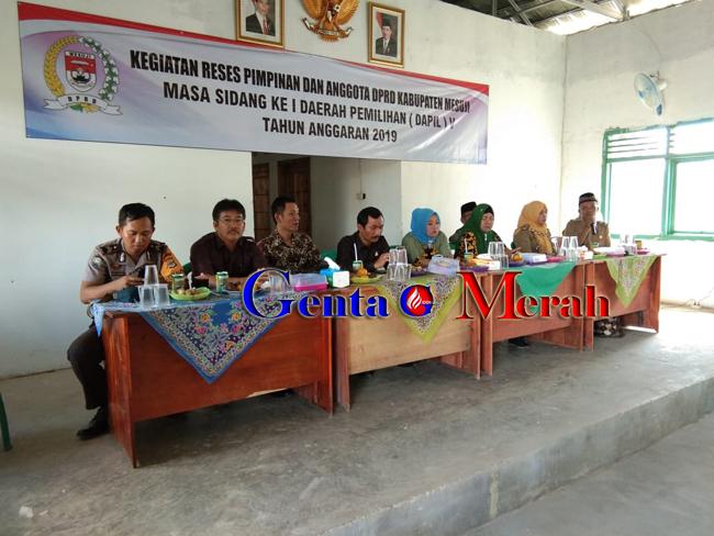 Tampung Apirasi Masayarkat, DPRD Mesuji Kembali Laksanakan Reses di Dapil V