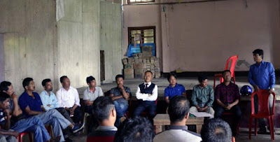 Darjeeling Terai Dooars Plantation labour union meeting