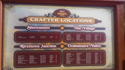 dollywood sign crafter locations
