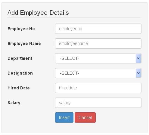 CodeIgniter Bootstrap: Insert Form Data into Database