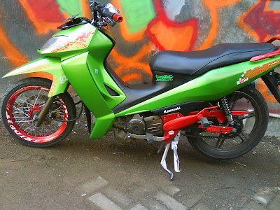 Modifikasi Motor Kawasaki ZX 130