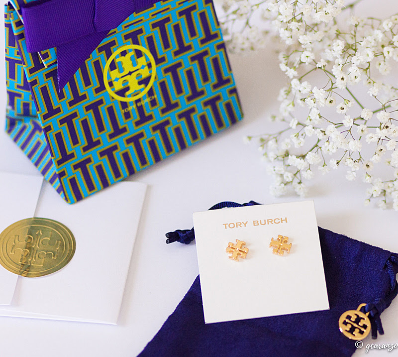 Tory Burch Logos Stud Earrings Blog Review