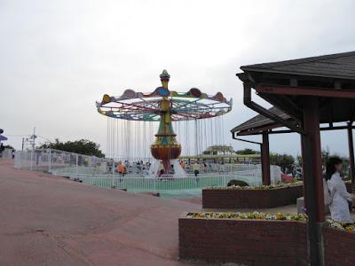 生駒山上遊園地 サイクルモノレール