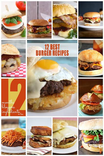 12 Tasty Burgers! #12 bloggers