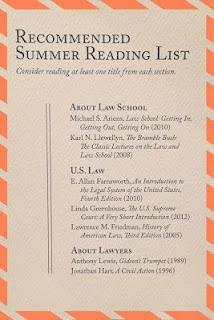 the summer readings before law school | brazenandbrunette.blogspot.com