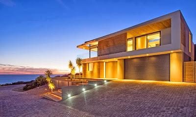 Casas minimalistas y modernas casa minimalista en sudafrica for Casa minimalista vidriada