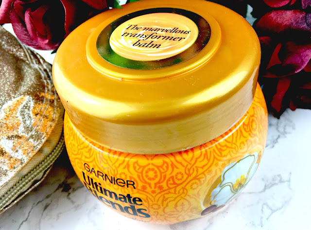Garnier Ultimate Blends Marvellous Moisture Hair Balm - Just Add Ginger blog