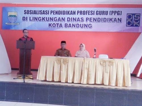 Sosialisasi PPG Kota Bandung 2018