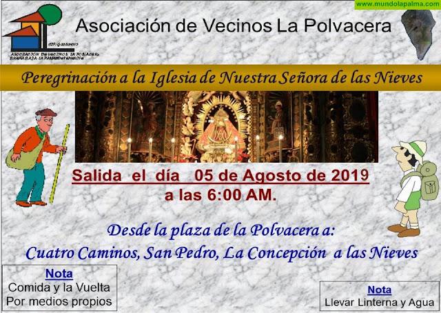 BREÑA BAJA: Festividad de Las Nieves