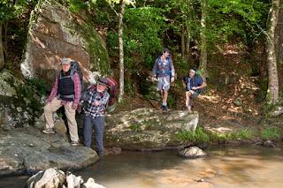 a walk in the woods-robert redford-nick nolte-andrew vogel-derek krantz