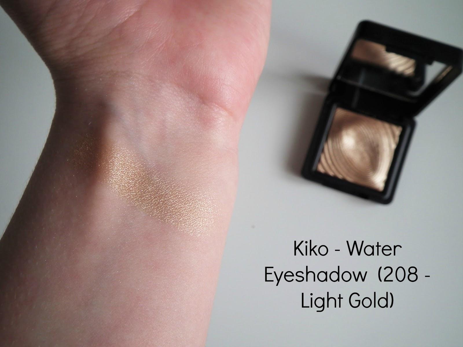 Budget Friendly Highlighters Kiko 208 Light Gold