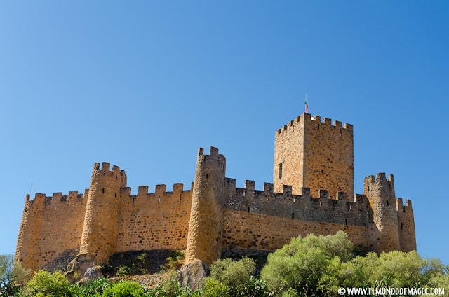 Castillos-de-Portugal. Almourol, otro bastión templario.