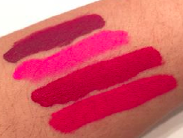 swatch rouges à lèvres liquides à effet mat Anastasia Beverly Hills