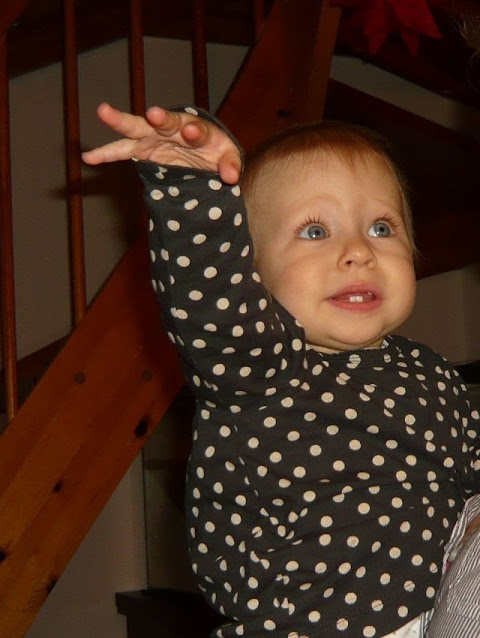 Babygebärde Licht