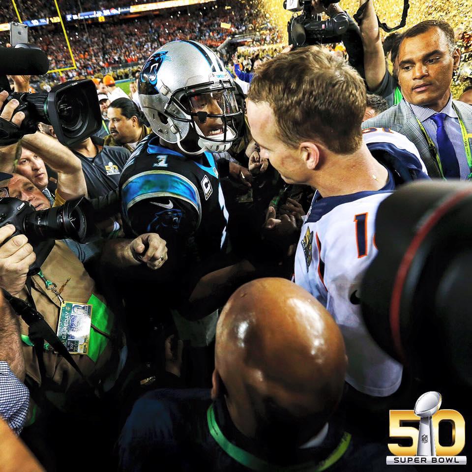 sb50, Cam Newton, Peyton Manning, Respect, nfl,