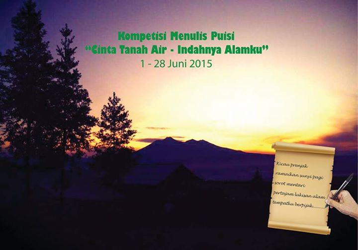 Lomba Menulis Puisi Cinta Tanah Air - Indahnya Alamku