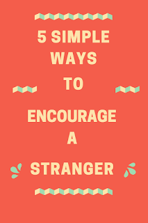5 Simple Ways to Encourage a Stranger - We can get so caught up in our own lives that we don't notice what the person next to us is going through. Be sensitive to those around you and take time to encourage someone today. Click through to share the best encouragement you have ever gotten!