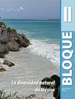 Apoyo Primaria Geografía 4to. Grado Bloque II La diversidad de México