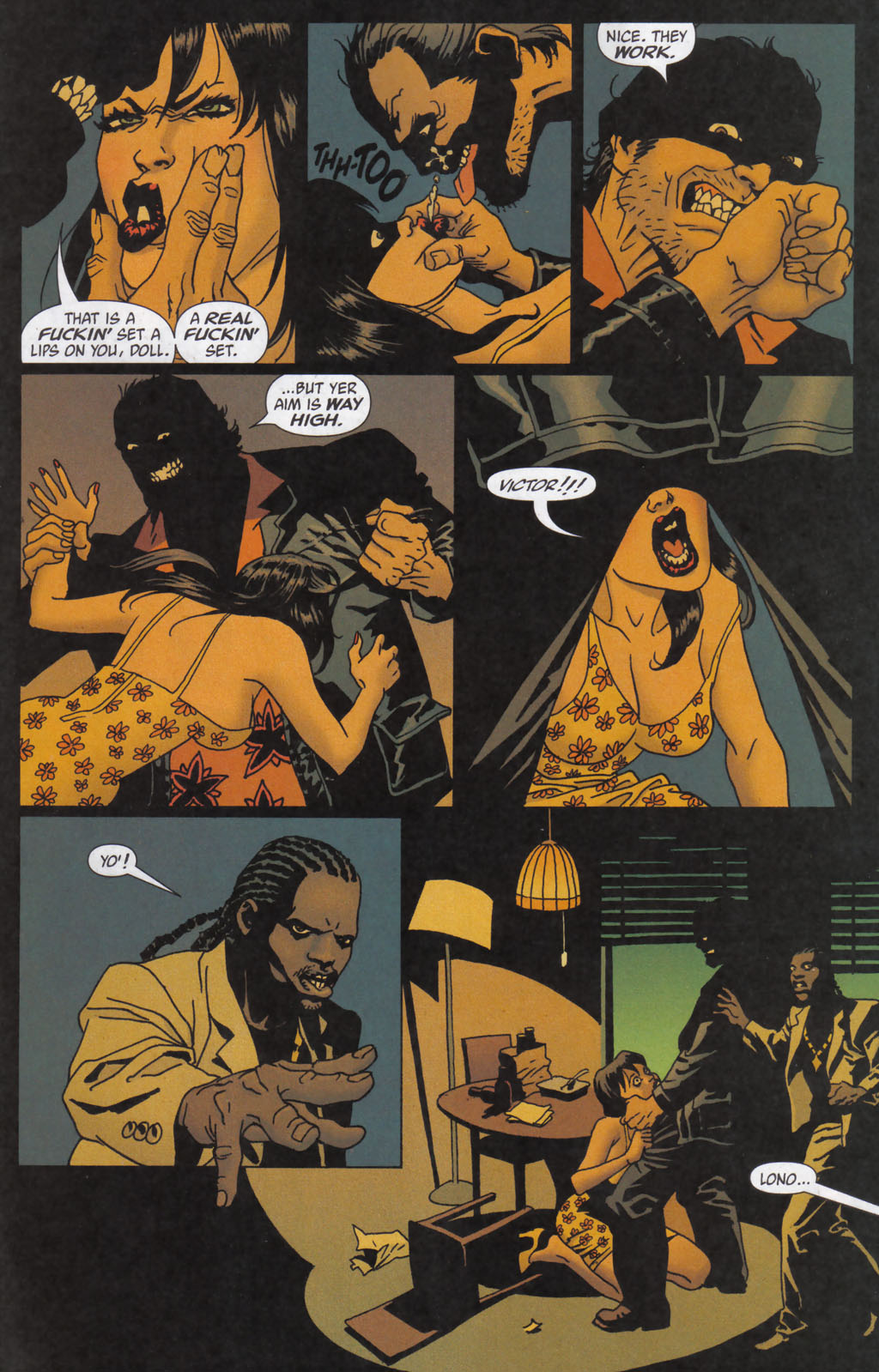Read online 100 Bullets comic -  Issue #59 - 16