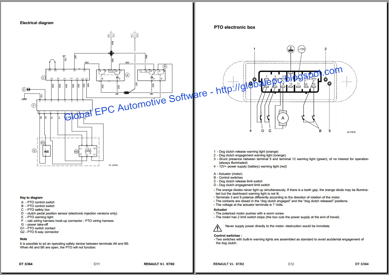Renault Trafic Wiring Diagram Holden Colorado Global Epc Automotive Software Master Mascott