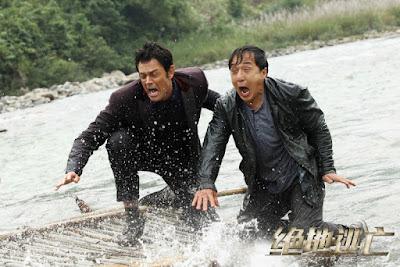 Adegan Lucu Jackie Chan dalam Skiptrace