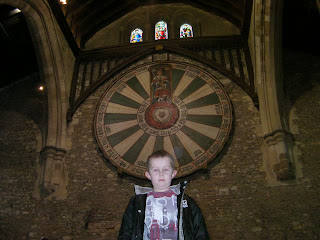 medieval replica of king arthurs round table