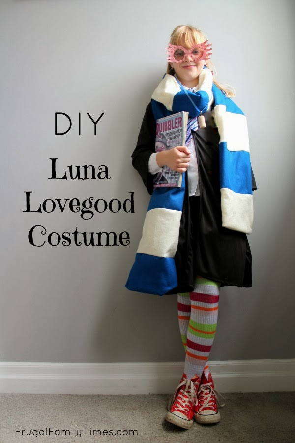 Harry potter diy luna lovegood costume an easy how to for Halloween costume ideas for 12 year olds
