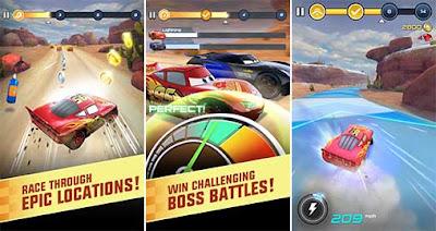 لعبة السباق Cars: Lightning League  مهكره (اوفلاين) للأندرويد ـ تحديث متجدّد