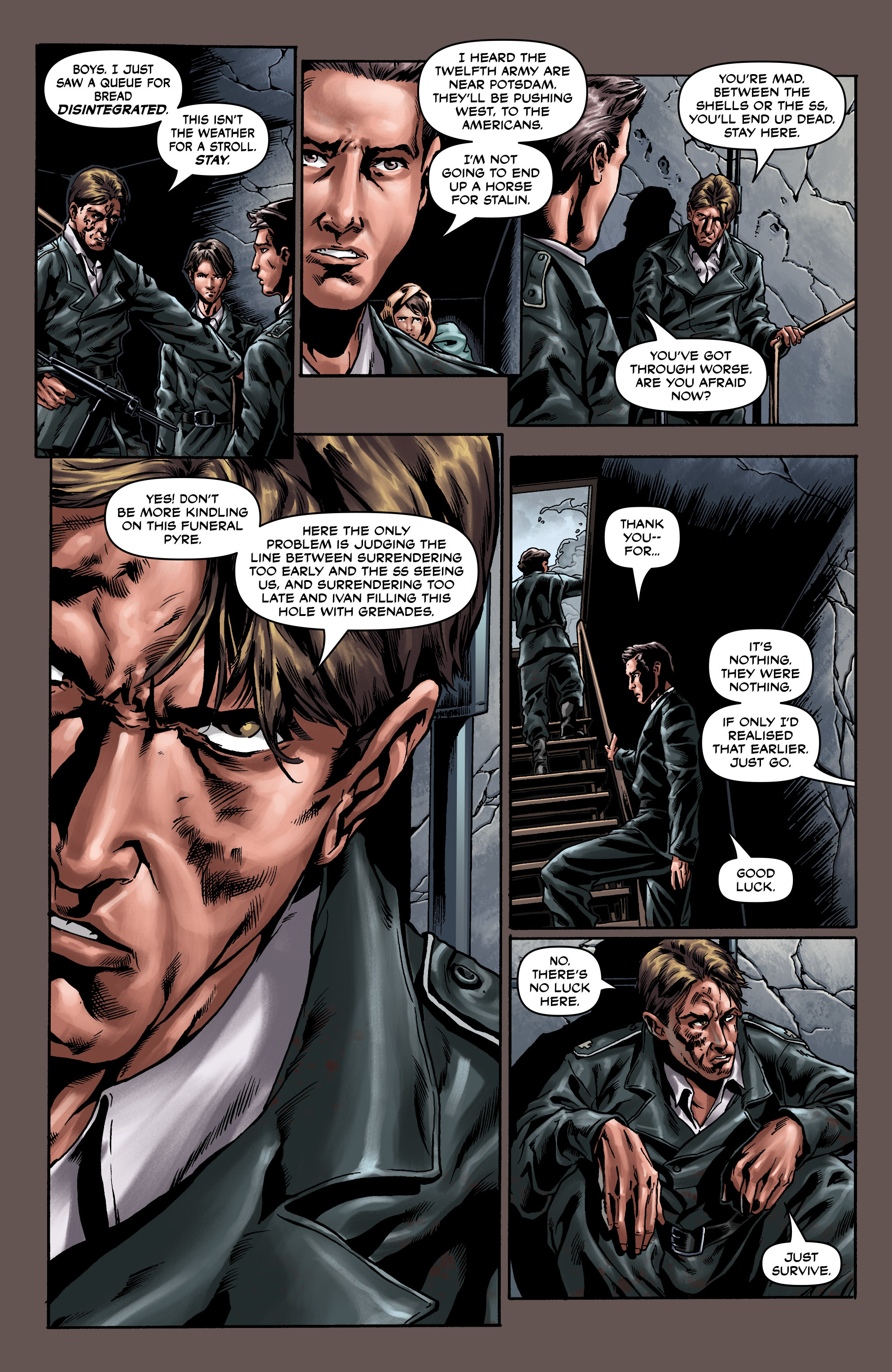 Read online Uber comic -  Issue #0 - 21