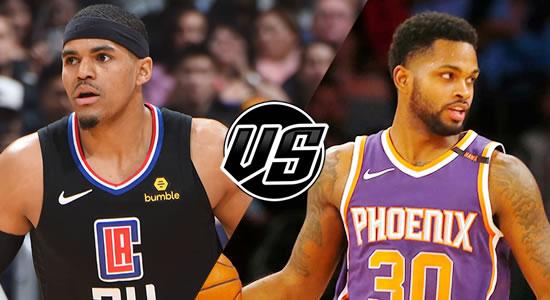 Live Streaming List: LA Clippers vs Phoenix Suns 2018-2019 NBA Season