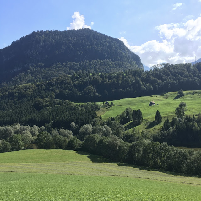 Hiking in Gruyère, Switzerland