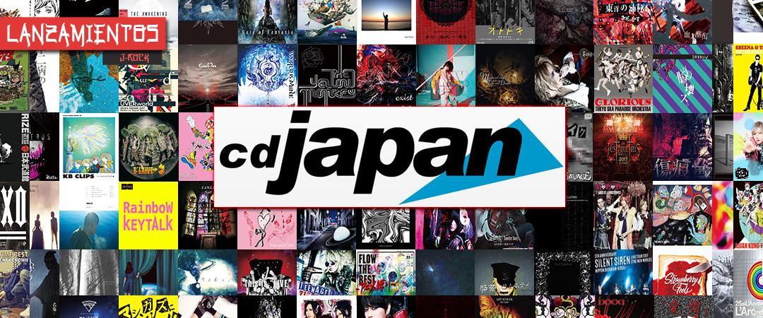 Lanzamientos J-ROCK - Marzo 2018
