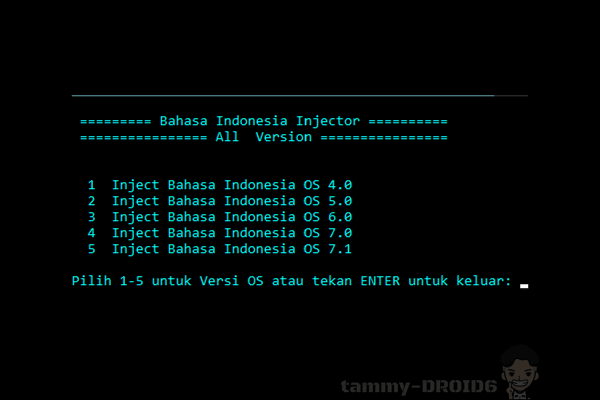 Injector Bahasa Indonesia Blackberry