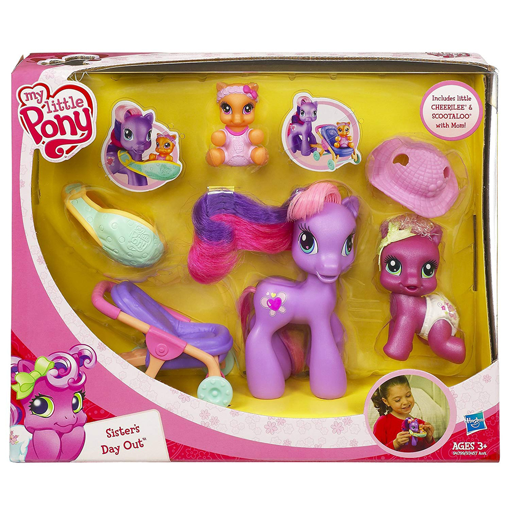 Mlp Mom Cheerilee Scootaloo G3 5 Ponies Mlp Merch Scootaloo's cutie mark in merchandise and promotional material is the same as her g3/g3.5 counterpart's, and was chosen by layout artist kat stenson prior to her work on the show. mlp mom cheerilee scootaloo g3 5 ponies