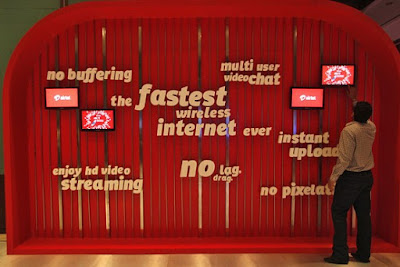 Airtel 4G, the fastest wireless internet