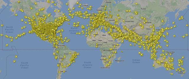 Maps Flight Tracking