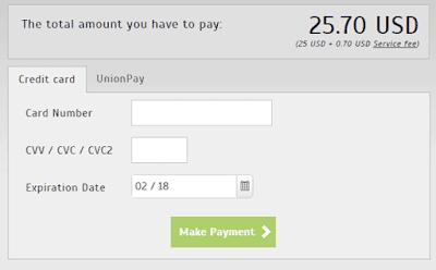 total pembayaran e-visa negara turki