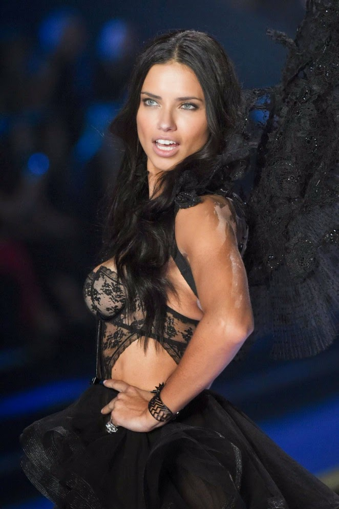 Adriana Lima - 2014 Victoria's Secret London Fashion Show Runway Pictures