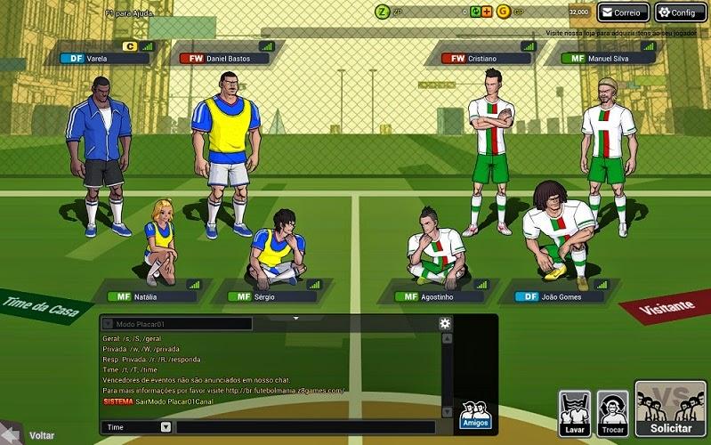 Jogo Futebol Mania