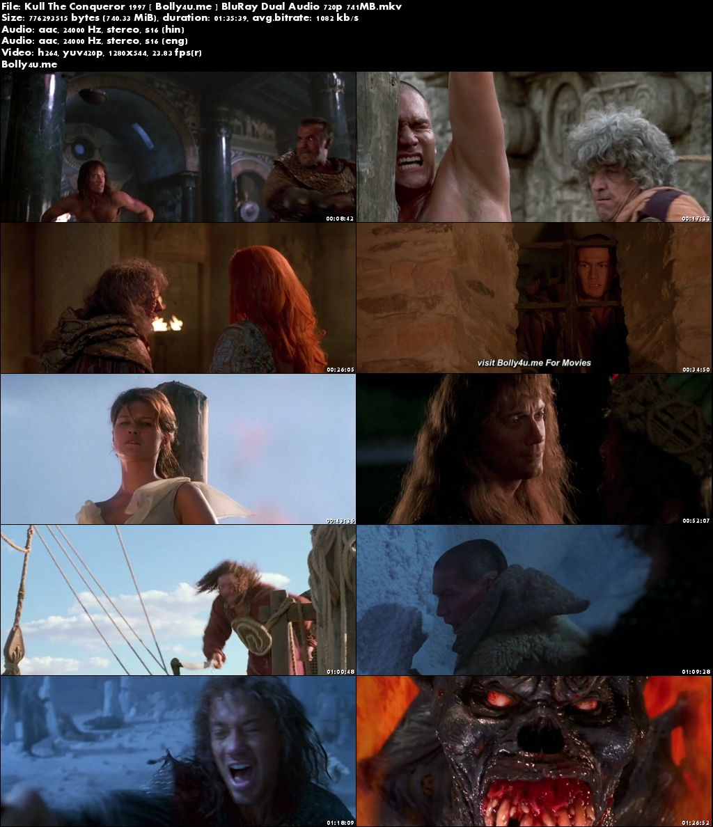 Kull The Conqueror 1997 BluRay 300MB Hindi Dual Audio 480p Download
