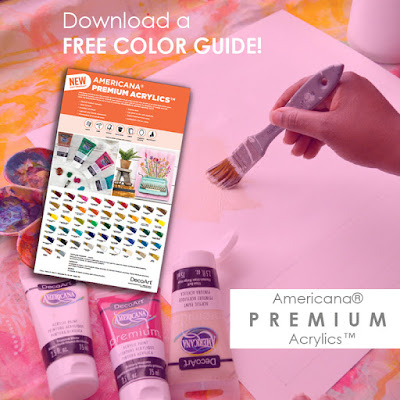 Download Color Guide - Americana Premium Acrylics