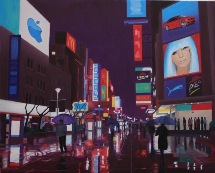 Британский художник. Paul Wilson