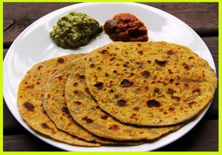 बचे दाल-चावल से बनाएं परांठे   Dal-Chawal Ke Paratha Recipe
