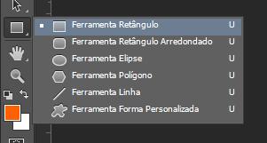 SELECIONANDO A FERRAMENTA RETÂNGULO